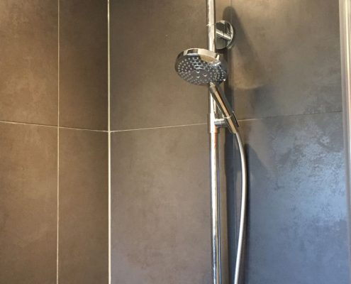 Neue Duscharmaturen